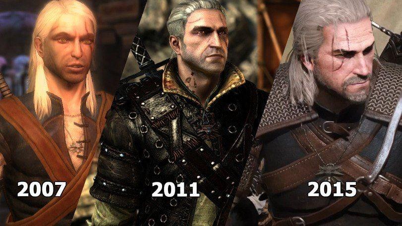 Αποτέλεσμα εικόνας για witcher game evolution