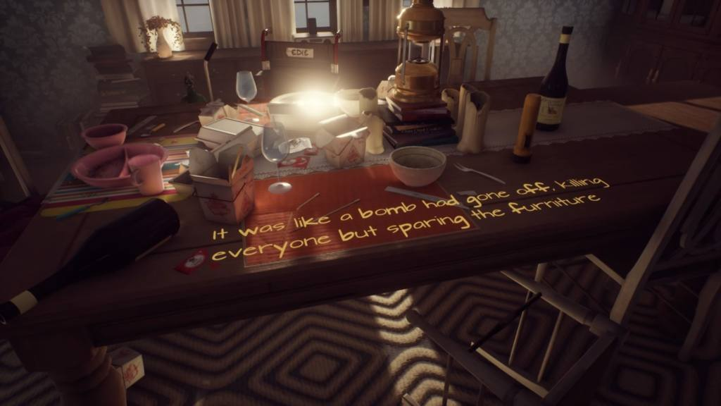 Αποτέλεσμα εικόνας για what remains of edith finch screenshots words